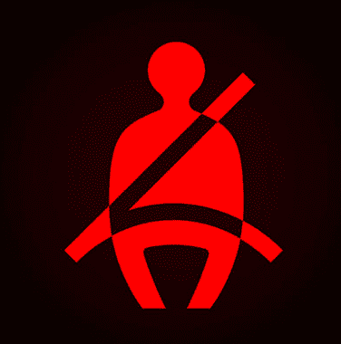 Seat Belt Reminder Indicator