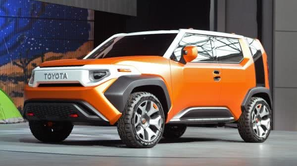Toyota Ft-4x concept at New York Auto Show 2017