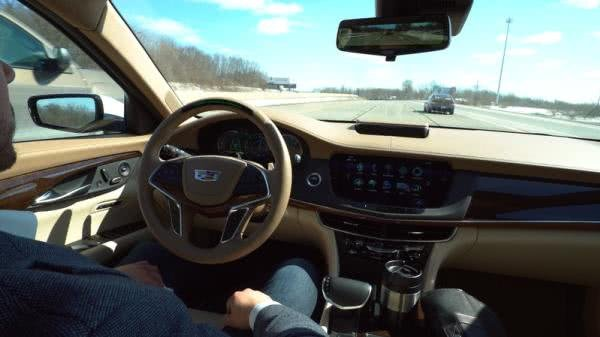 Cadillac Super Cruise driving cabin