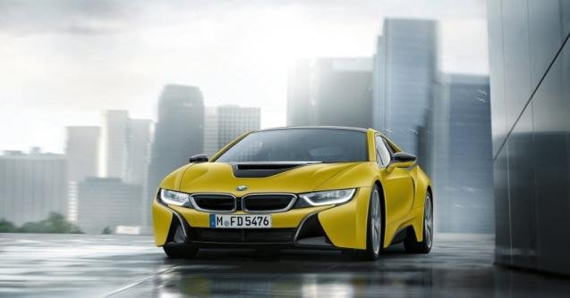 Bmw Offers New Color Option For I8 Special Edition