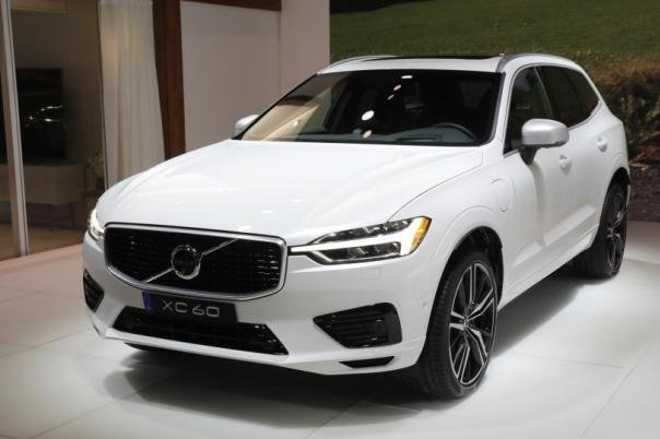 2018 Volvo XC60 at New York Auto Show