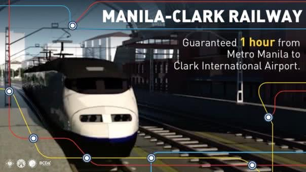 Manila-Clark train line