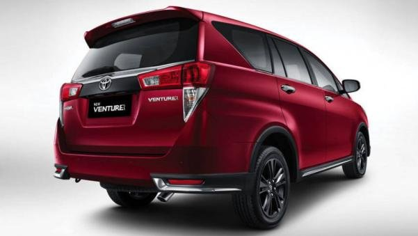 Toyota Innova Crysta Touring Sport angular rear