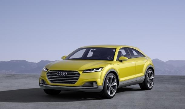 2019 Audi Q4 RS angular front