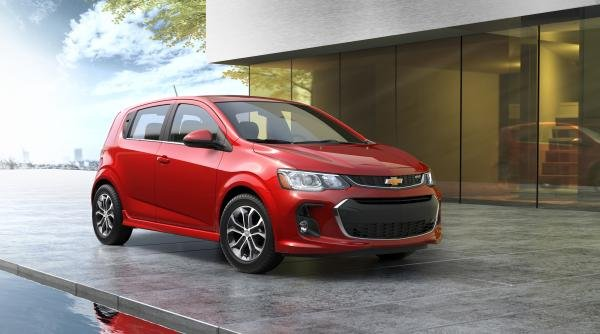 Chevrolet Sonic angular front view