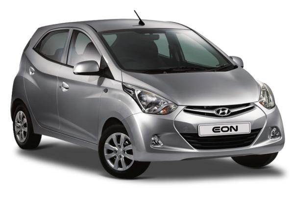 Hyundai Eon angular front view