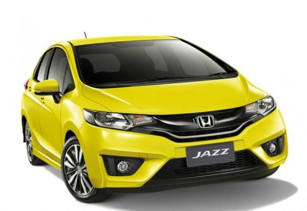 Honda Jazz angular front view