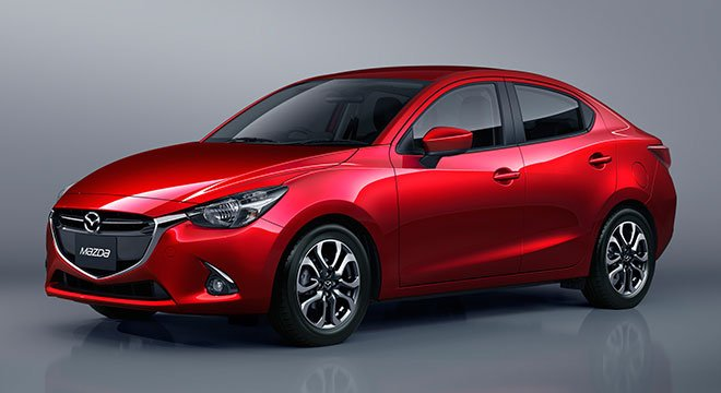Mazda 2 angular front view