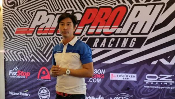 Racer at toyota vios cup