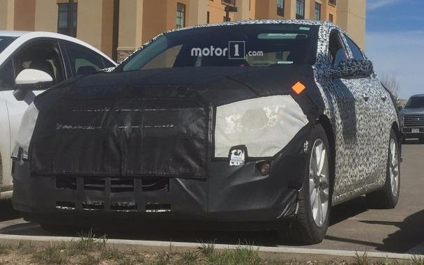 Spy photos: 2019 Chevrolet Malibu front view