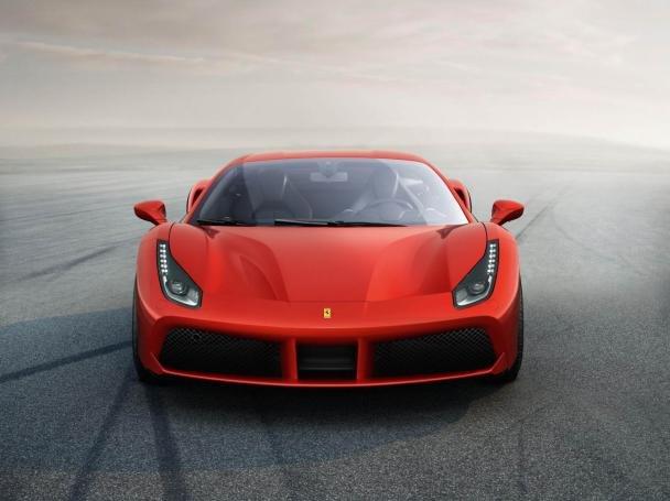 Ferrari 488 GTO front view