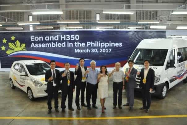 Representatives at Hyundai Assembly Center
