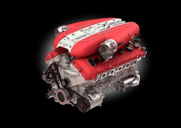 Ferrari V12 engine