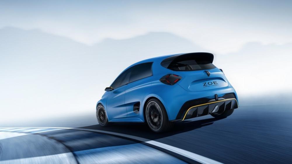 Renault Zoe E-Sport angular rear