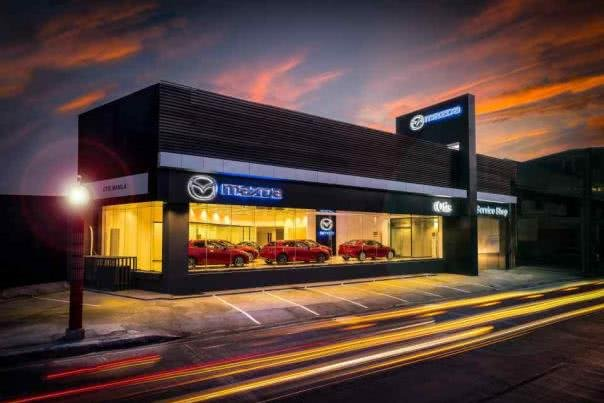 Mazda Otis showroom