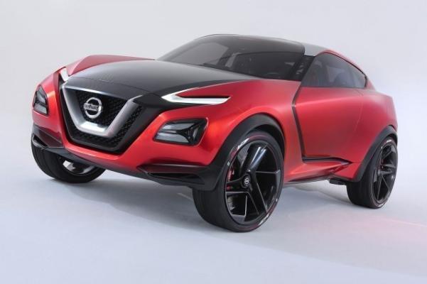 2018 Nissan Juke angular front