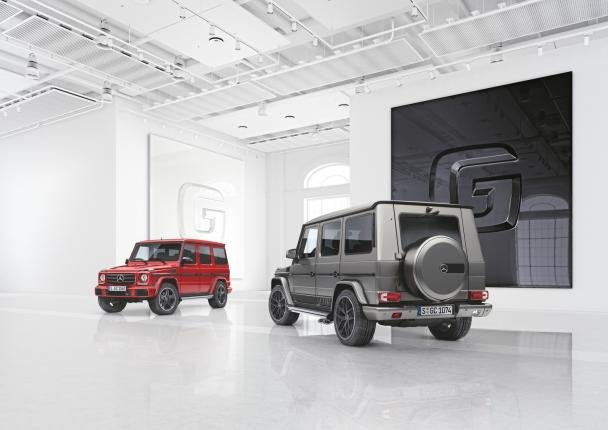Mercedes-Benz G350d and the G500