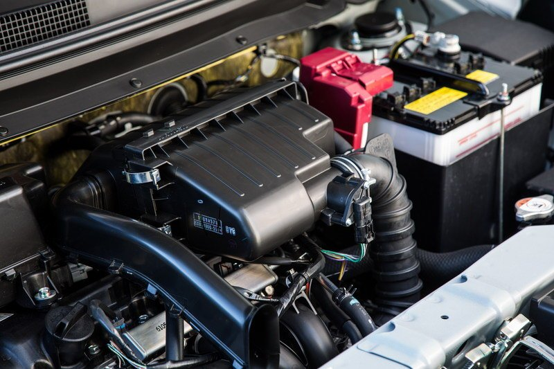 2017 Mitsubishi Mirage G4 engine
