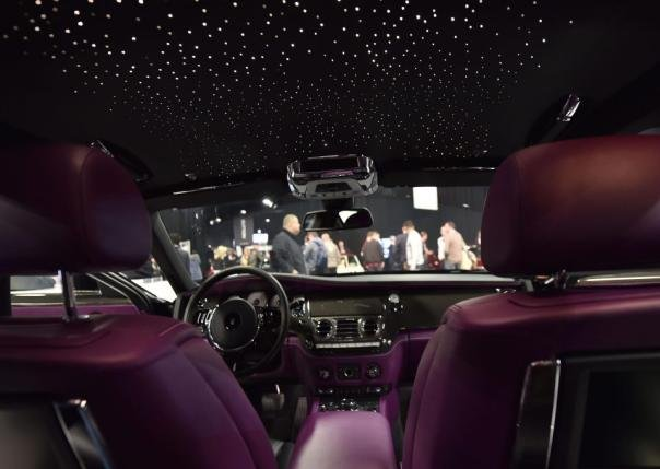 Rolls Royce Ghost Black Edition's cabin
