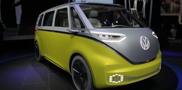 Volkswagen ID Buzz angular front
