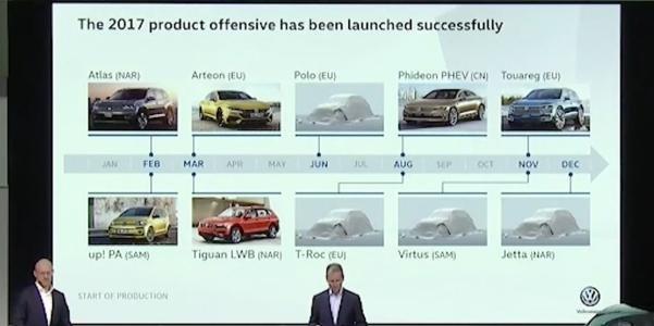 Herbert Diess at Volkswagen's annual session