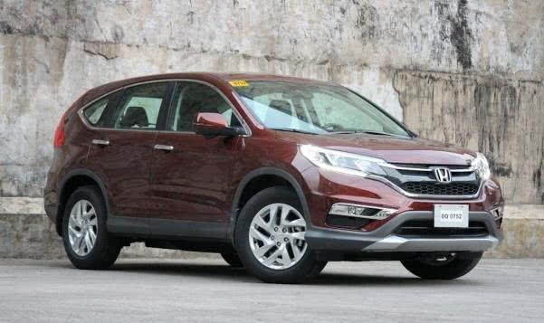 Honda CR-V angular front