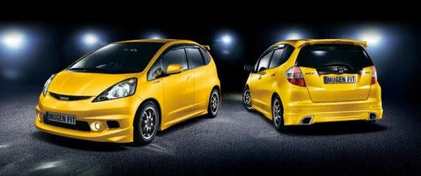 Honda Jazz front and rear