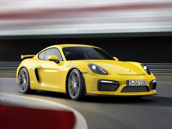 Porsche 718 GT4  angular front