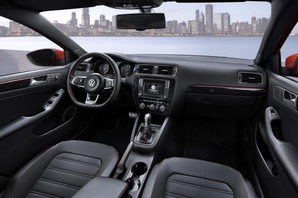 2017 VW Jetta's cabin