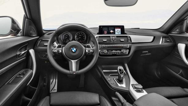 BMW 2 Series's cabin