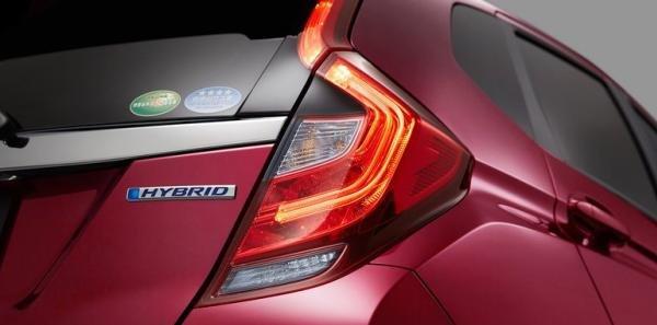 2017 Honda Jazz facelift's taillights