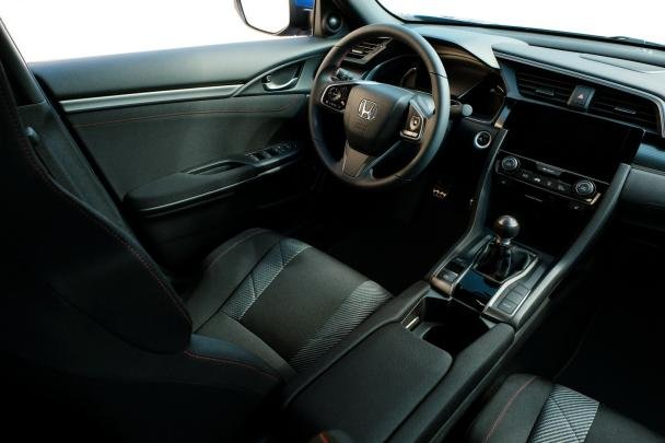 2017 Honda Civic Si's cabin