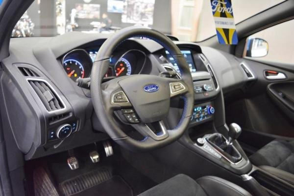 The 2018 Ford Focus's interior