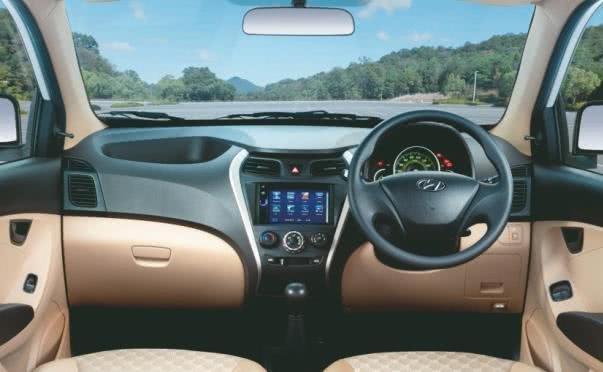 Hyundai eon 2017 sports edition cabin