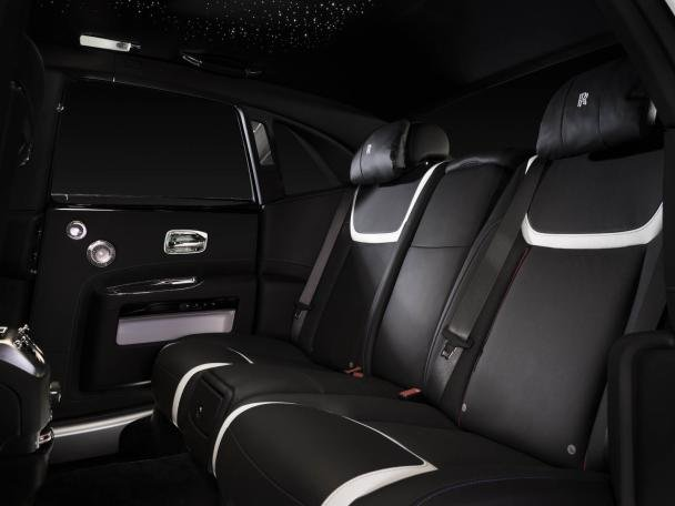 Rolls-Royce Ghost Seoul Edition's back seats