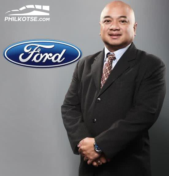 Portrait of Ford's vice president for Marketing and Sales Rodel Gallega