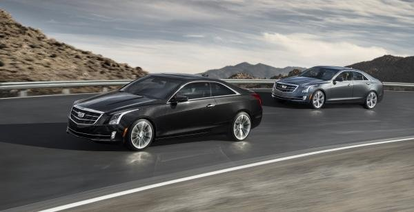 two Cadillac luxury cars