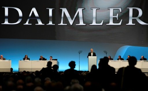 Daimler's conference