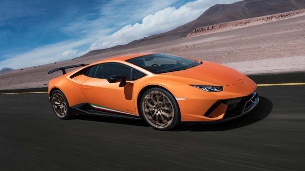 Lamborghini Huracán angular front view