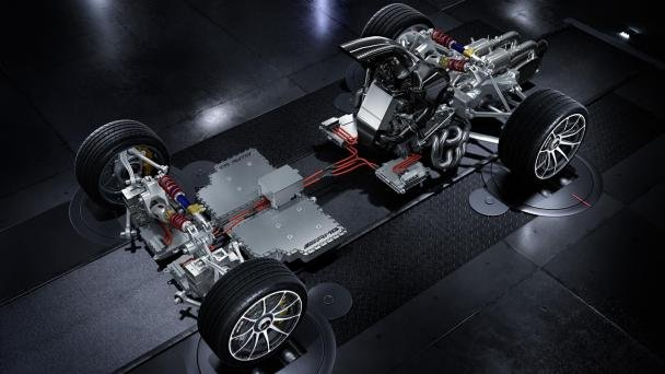 Mercedes-AMG Project One's powertrain model