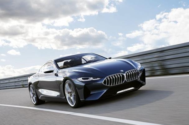 BMW 8-Series angular front