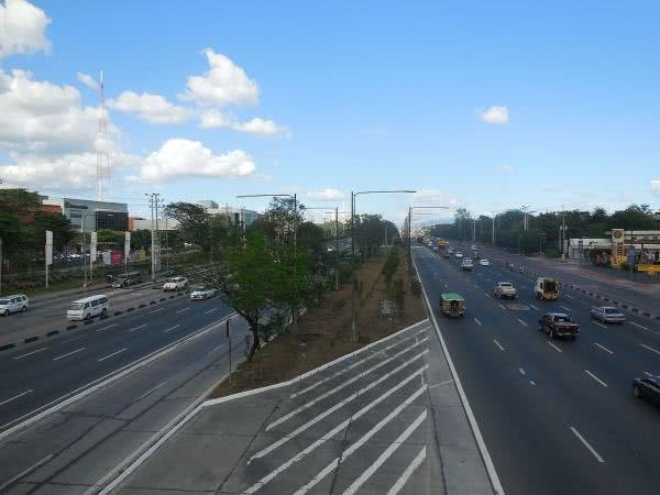 Commonwealth Avenue in the Philippines