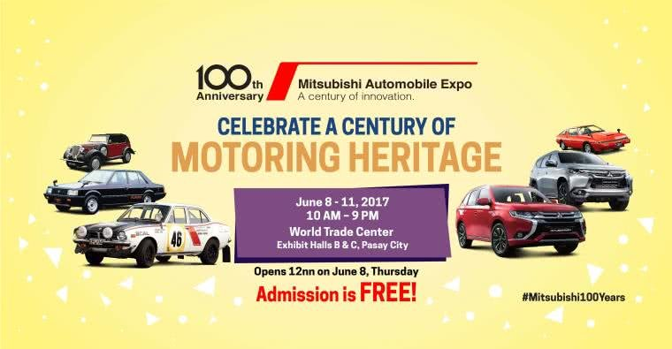 Notice of Mitsubishi's 100 year expo