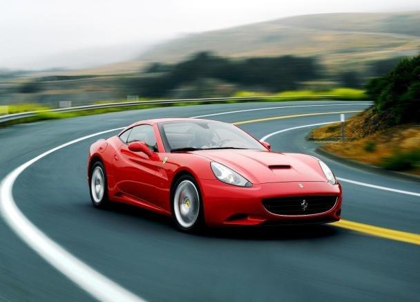 Ferrari California on Road