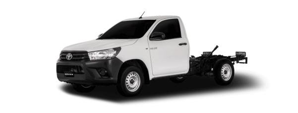 2017 Toyota Hilux Revo without the trunk
