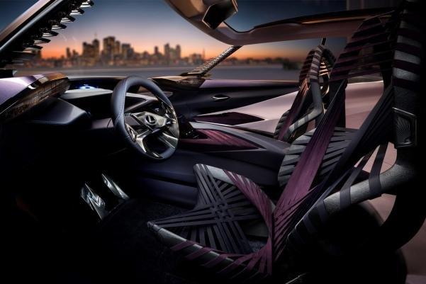 The Lexus UX Concept's cabin