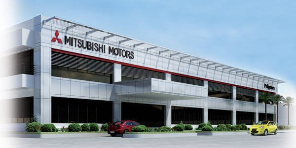 front view of Mitsubishi Motors Philippines Corporation building
