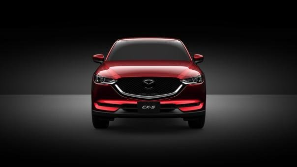 Front view of the Mazda CX-8