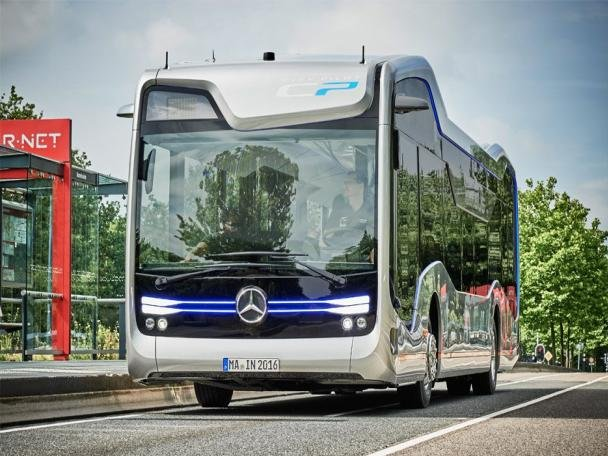 angular front of the Future Bus
