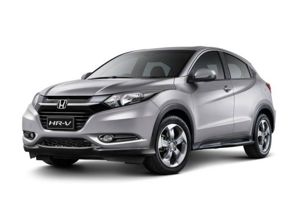 angular front of the Honda HR-V Limited Edition 2017